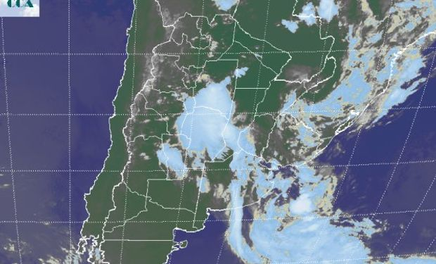 La imagen satelital posiciona las coberturas más homogéneas sobre el centro norte de CB y las vecindades del centro de SF.
