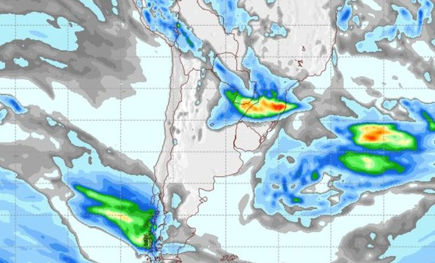 Mapa de Precipitaciones para el 31 de mayo.