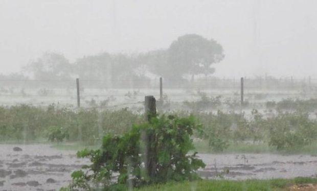 Acumulados: las lluvias dejaron un piso de 50 milímetros en Buenos Aires, Santa Fe y Entre Ríos