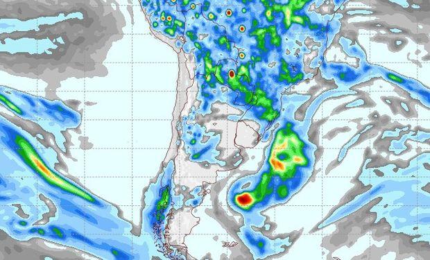 Pronóstico lluvias 10 de noviembre.