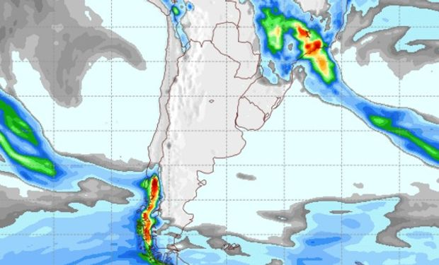 Pronóstico de lluvias 5 de noviembre de 2016.