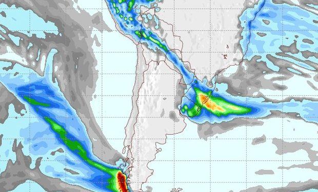 Pronóstico de precipitaciones para el 17 de septiembre.