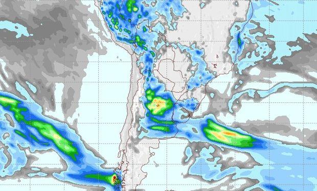 Pronóstico de lluvias para el 27 de septiembre.
