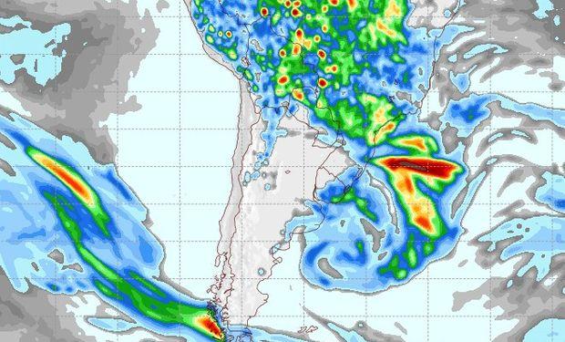 Pronóstico lluvias 11 de noviembre.