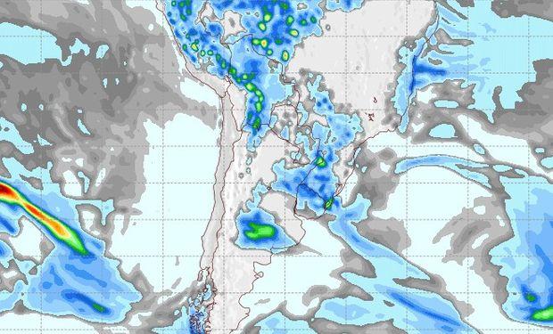 Pronóstico de lluvias para el 26 de septiembre.
