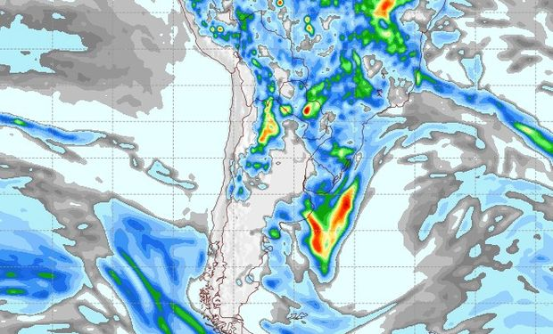 Pronóstico lluvias 9 de noviembre.