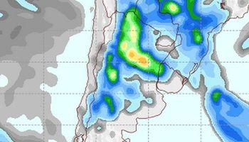 Continuarían las lluvias sobre el norte argentino