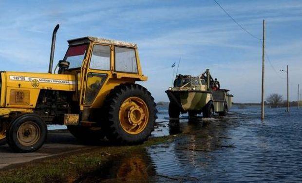 Hay más de 800.000 hectáreas anegadas en la provincia de Buenos Aires e incertidumbre por el avance del agua.