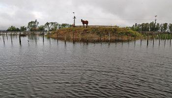 En General Villegas, ya son récord las lluvias de octubre
