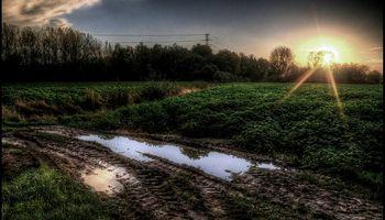 Lluvias muy por encima de las medias mensuales