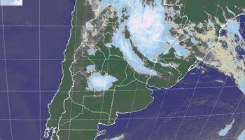 Las tormentas se trasladan temporariamente al NEA