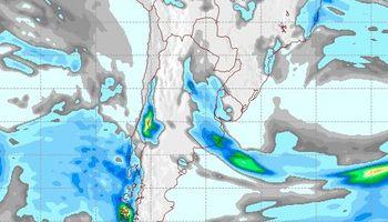Las zonas que tienen mejores perspectivas de lluvia para los próximos días