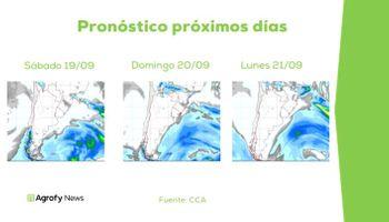 Se apunta a la despedida de septiembre para la llegada de nuevas lluvias: qué dice el pronóstico del tiempo
