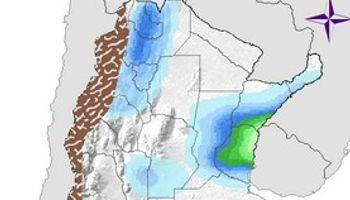 Tormentas aisladas sobre regiones del centro norte