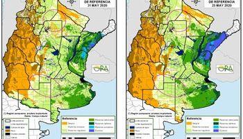 El oeste santafesino y el este cordobés esperan lluvias para afinar las decisiones de siembra