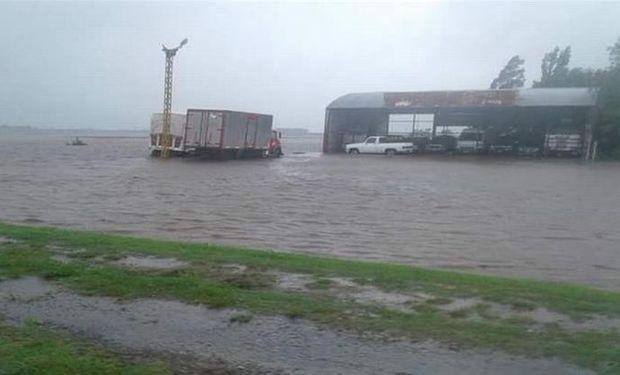 El temporal de ayer afectó a más de 70 localidades.
