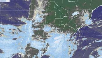 Precipitaciones sobre regiones del centro