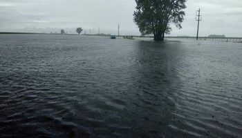 Miles de hectáreas quedaron anegadas