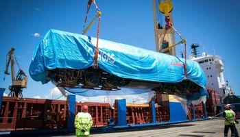 Plan Belgrano: llegaron dos nuevas locomotoras para el ferrocarril de carga