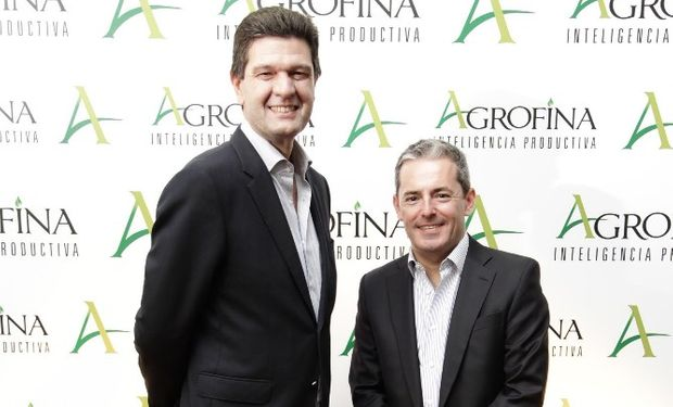Horacio Busanello, CEO de Grupo Los Grobo, y Carlos Cellini, CEO de Agrofina.