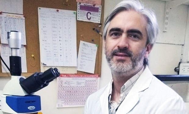 Lucas Braun investigador de Conicet Rosario.