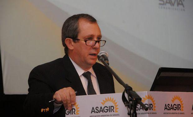 Luis Arias, presidente de la Asociación Argentina de Girasol (ASAGIR)