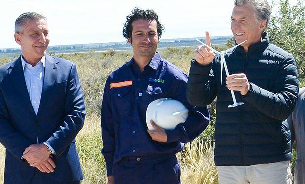 Macri destacó que se encuentran en marcha 147 proyectos de energías renovables en 18 provincias.