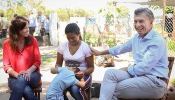 Macri visitó una huerta comunitaria en un pequeño pueblo de Santiago del Estero