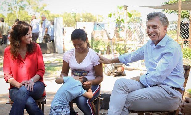 Macri estuvo acompañado por la ministra de Salud y Desarrollo Social, Carolina Stanley.