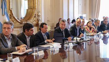 Macri encabezó la segunda Mesa Logística tendiente a bajar los costos de transporte