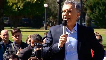Macri manifestó su preocupación por el cambio climático