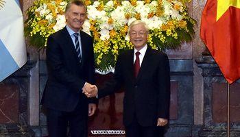 Argentina y Vietnam firmaron nuevos acuerdos comerciales