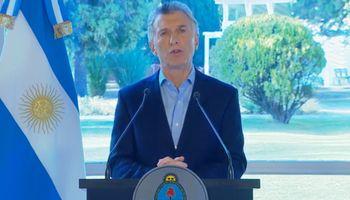 """Macri anunció medidas para """"ponerle plata en el bolsillo"""" a los argentinos"""