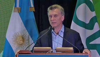 Macri se refirió a la movilización de productores de peras y manzanas