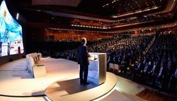 """Macri, desde el mini Davos: """"El mundo ve y acompaña a la Argentina"""""""