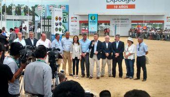 """Macri: """"Vamos a hacer una revolución productiva en el campo argentino"""""""