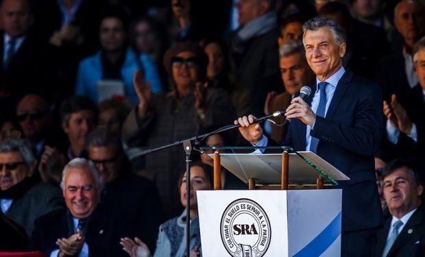 Macri inuaguró oficialmente la 133 Exposición Rural