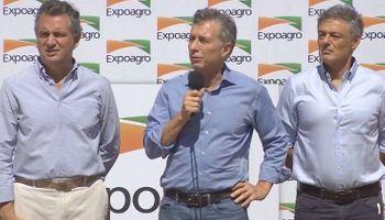 Macri anunció beneficios para los productores afectados por la sequía