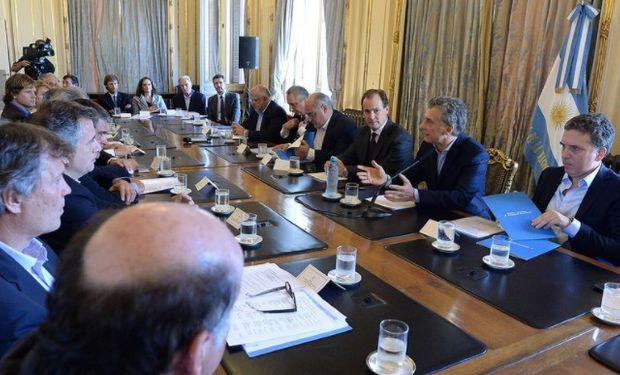 Macri recibió a la Mesa Foresto Industrial.