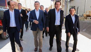 Macri visitó Renova, la mayor planta de procesamiento de soja del mundo