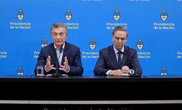 """""""Continuaremos trabajando codo a codo y haciéndonos cargo de nuestra tarea"""", destacó Macri en conferencia de prensa."""