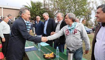 """Macri: """"La posibilidad de crecimiento es infinita y el campo es un ejemplo"""""""