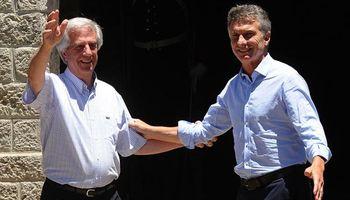 Macri y Tabaré firmaron acuerdos por gas y medioambiente