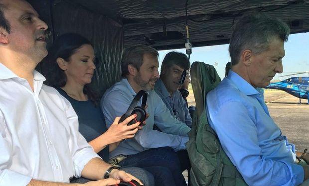 Mauricio Macri visitó Entre Ríos.