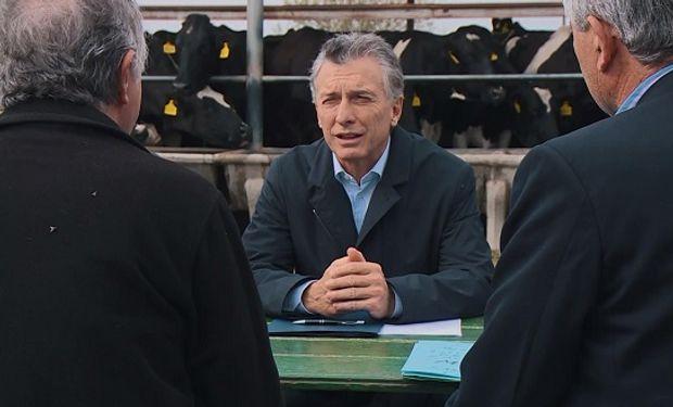 Macri se reunirá en junio con la Mesa Lechera.