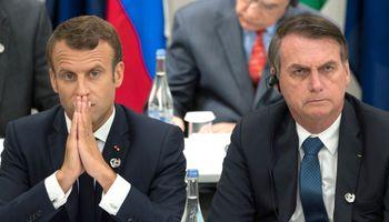 """Brasil respondió a Macron: """"La soja no exporta deforestación"""""""
