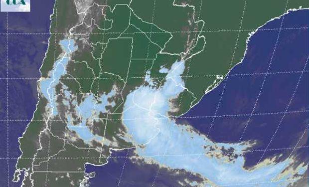 El mal tiempo afecta con precipitaciones a gran parte del centro sur de ER y el noreste de BA.
