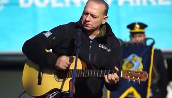 Video: el chamamé de Berni para recordar a los caídos en Malvinas
