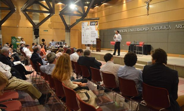 Manuel Font, Presidente del 16° Seminario de Comercialización de Granos. Globaltecnos - CREA