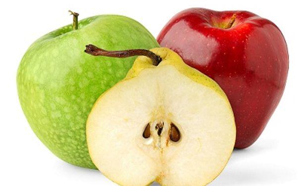 Tanto las peras como las manzanas tienen una vida útil. De no levantarse la suspensión habrá que tirar la fruta.